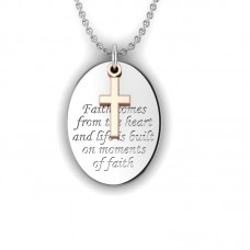 Faith comes from the heart