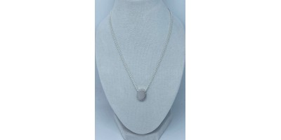 oval pendant with chain